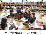 classmate educate friend... | Shutterstock . vector #398598130