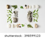 creative natural layout made of ... | Shutterstock . vector #398599123