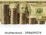 Columns Of British Pound...