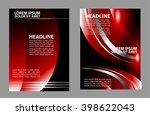 stylish presentation of... | Shutterstock .eps vector #398622043