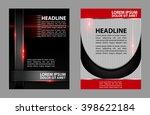 flyer design templates  | Shutterstock .eps vector #398622184
