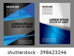 stylish presentation of... | Shutterstock .eps vector #398623246