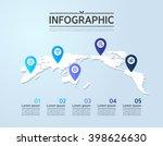 business info graphic design | Shutterstock .eps vector #398626630