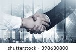 successful partnership concept | Shutterstock . vector #398630800