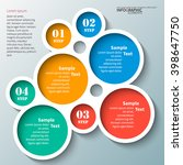 vector abstract 3d paper... | Shutterstock .eps vector #398647750