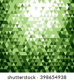 abstract green background.... | Shutterstock .eps vector #398654938