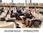 classmate educate friend... | Shutterstock . vector #398662390