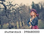 extravagant exotic beautiful... | Shutterstock . vector #398680000