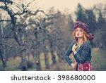 extravagant exotic beautiful...   Shutterstock . vector #398680000