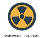 radioactive sign illustration   ... | Shutterstock .eps vector #398701354