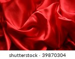 soft red satin background - stock photo