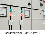 industrial electrical switch... | Shutterstock . vector #39871993