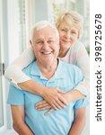 portrait of happy senior couple ... | Shutterstock . vector #398725678
