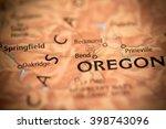 bend. oregon. usa | Shutterstock . vector #398743096