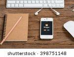 chiangmai  thailand  march 31 ... | Shutterstock . vector #398751148