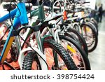 Modern Mountain Bikes In Sport...