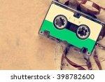 Audio Cassette With Paper Piec...
