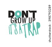 funny quote poster. | Shutterstock .eps vector #398793289