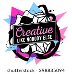 vector illustration of colorful ... | Shutterstock .eps vector #398835094