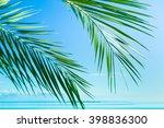 background scene island  | Shutterstock . vector #398836300