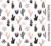 vector seamless pattern of... | Shutterstock .eps vector #398837896
