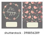 Be Happy. Cute Pages For Notes...