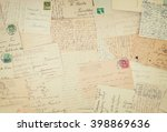 Set Of Handwritten Antique...
