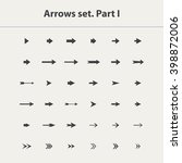 arrow icon set vector isolated...