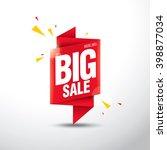sale banner template design | Shutterstock .eps vector #398877034