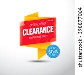 sale banner template design | Shutterstock .eps vector #398877064