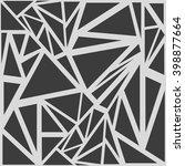 seamless triangle pattern.... | Shutterstock .eps vector #398877664