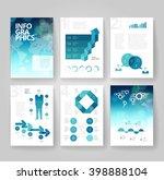business brochure design... | Shutterstock .eps vector #398888104