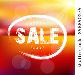 sale. summer. | Shutterstock .eps vector #398890279