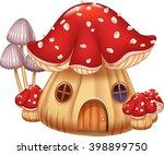Illustration Mushroom House