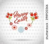 happy easter design  | Shutterstock .eps vector #398920366