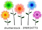 beautiful rainbow floral for... | Shutterstock . vector #398924773