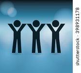 diversity concept design  | Shutterstock .eps vector #398931178
