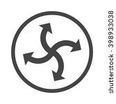 vector icon   activity arrow | Shutterstock .eps vector #398933038