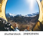 Tent Lookout On A Camp In The...