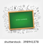 the school board on the... | Shutterstock .eps vector #398941378