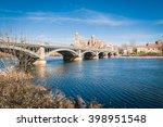 view of city of salamanca  spain | Shutterstock . vector #398951548