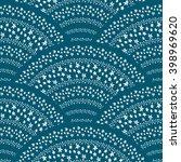 asian japanese pattern. pattern ... | Shutterstock .eps vector #398969620