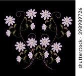 flower   Shutterstock .eps vector #398989726