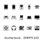 set of 15 technology icons for... | Shutterstock .eps vector #398991103