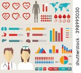 medical elements collection. | Shutterstock .eps vector #398995030