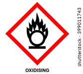 ghs hazard pictogram  ... | Shutterstock .eps vector #399011743