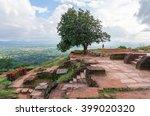 ancient ruins on sigiriya lion... | Shutterstock . vector #399020320