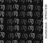 seamless  pattern of zodiac... | Shutterstock . vector #399037630