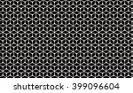 monochrome abstract isometric... | Shutterstock .eps vector #399096604