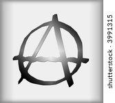 anarchy symbol | Shutterstock . vector #3991315